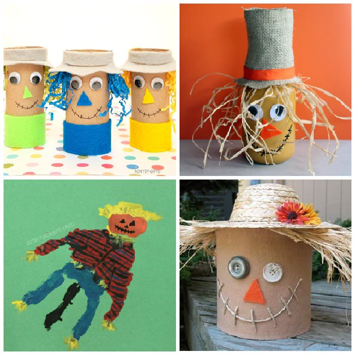Scarecrow craft ideas